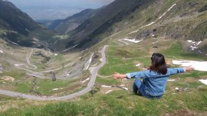 Transfagarasan Road seen from above!
