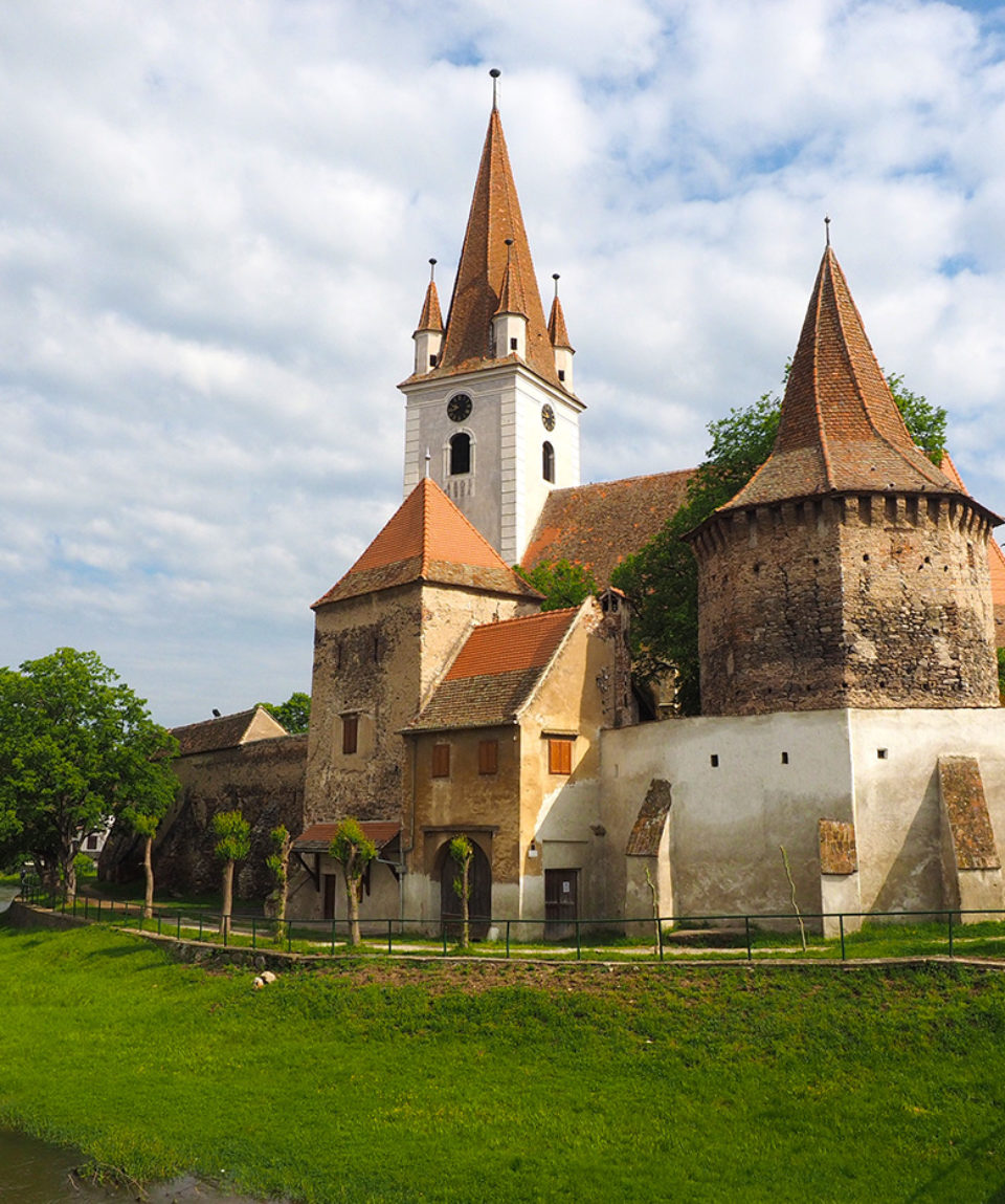 The fortified church of Cristian