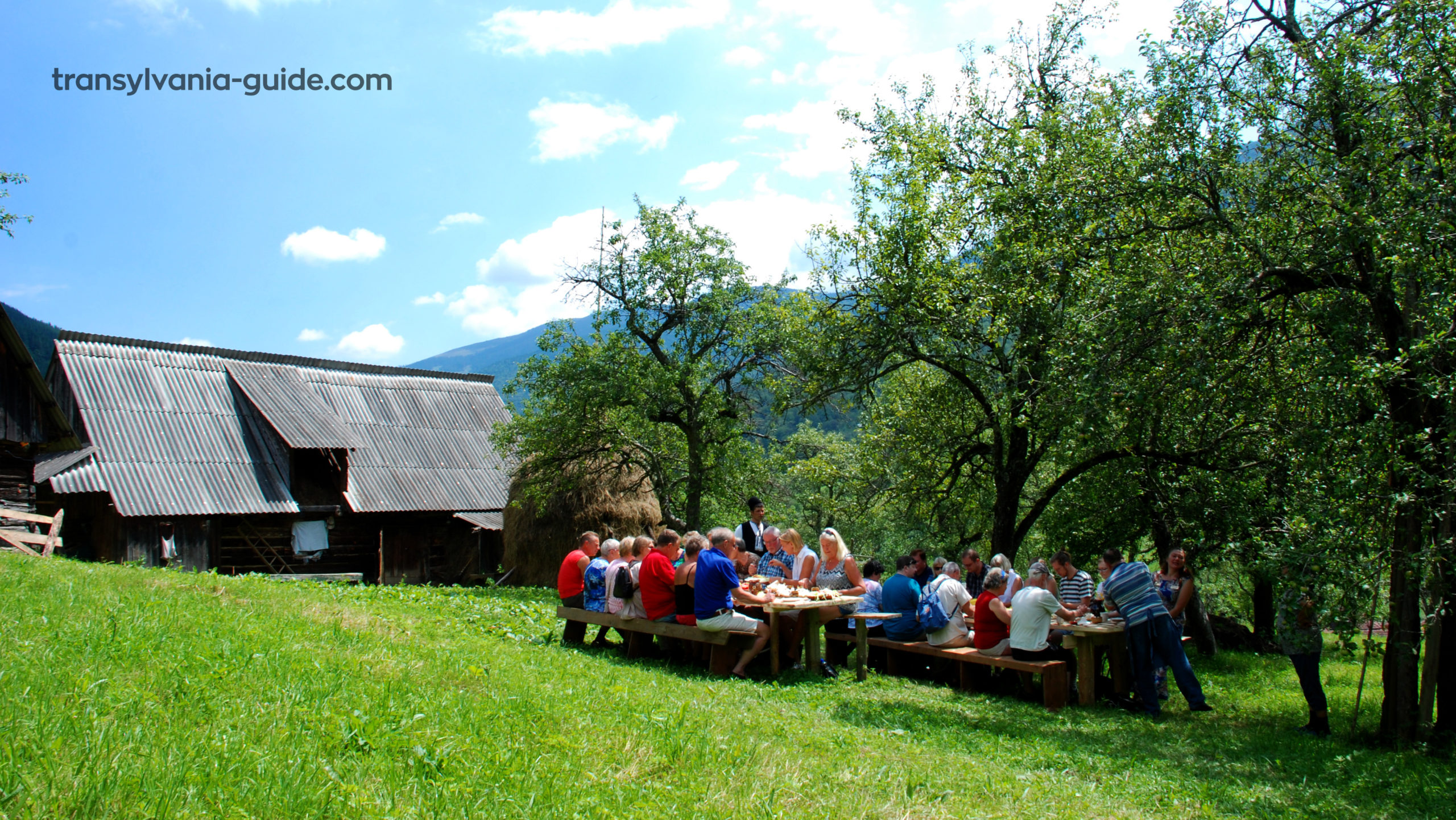 Lunch at the sheepfold